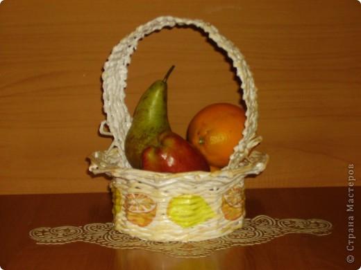 Очередная корзиночка для подруги в подарок на 8 Марта фото 1