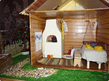 Для ознакомления детей с историей родного края появилась идея создания домика. Многое увидела в стране мастеров. Если что не понятно спрашивайте отвечу всем. фото 6