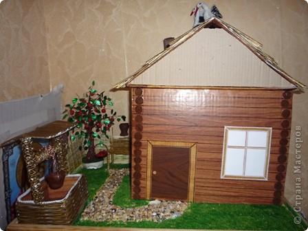 Для ознакомления детей с историей родного края появилась идея создания домика. Многое увидела в стране мастеров. Если что не понятно спрашивайте отвечу всем. фото 1