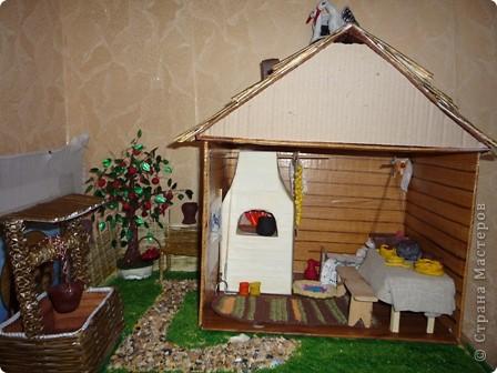 Для ознакомления детей с историей родного края появилась идея создания домика. Многое увидела в стране мастеров. Если что не понятно спрашивайте отвечу всем. фото 2