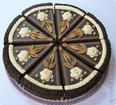 Шоколадный тортик фото 1