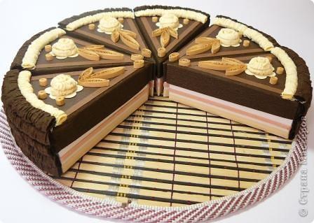 Шоколадный тортик фото 2