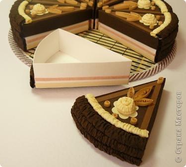 Шоколадный тортик фото 3