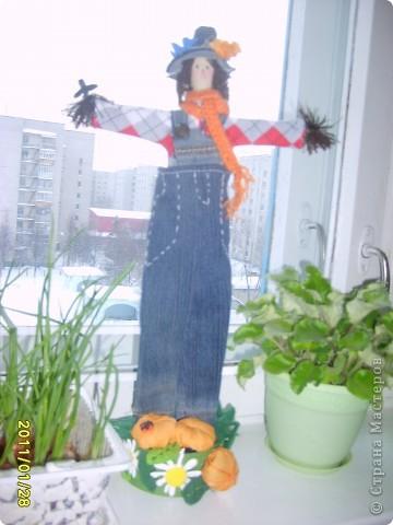 Я засела.... на куклы. Наверное не только я. Вот такая очаровательная мадам получилась. фото 4