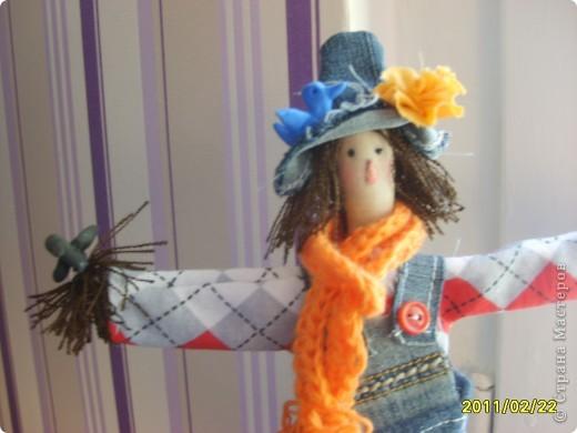 Я засела.... на куклы. Наверное не только я. Вот такая очаровательная мадам получилась. фото 1