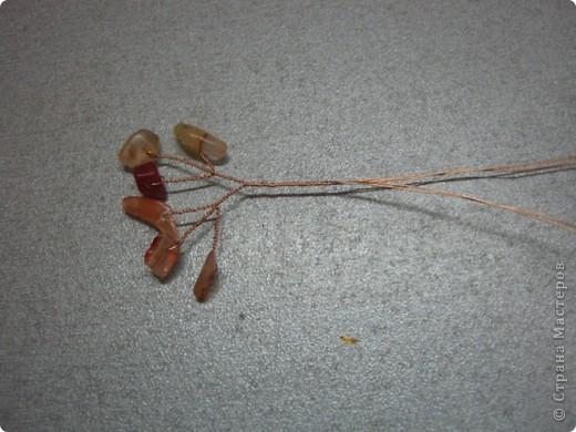 Хочу поделиться самым простым способом изготовления деревца из каменной крошки (скол). фото 10