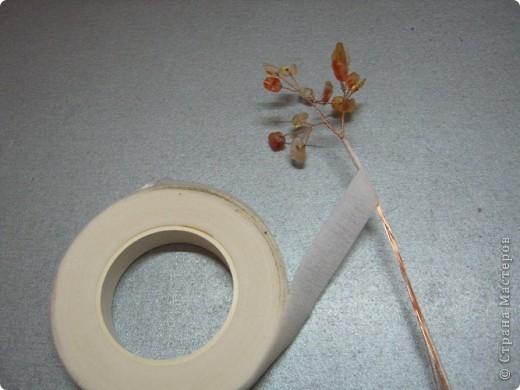 Хочу поделиться самым простым способом изготовления деревца из каменной крошки (скол). фото 11