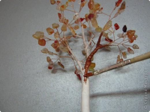 Хочу поделиться самым простым способом изготовления деревца из каменной крошки (скол). фото 15