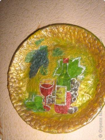 тарелочка из газет фото 1