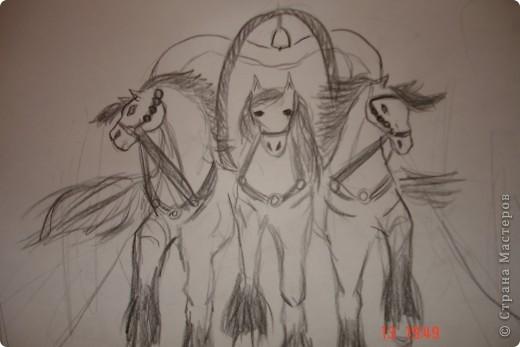 Гнедая лошадь фото 3