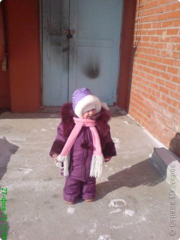 куртка и штанишки доче,мех натуральный фото 2