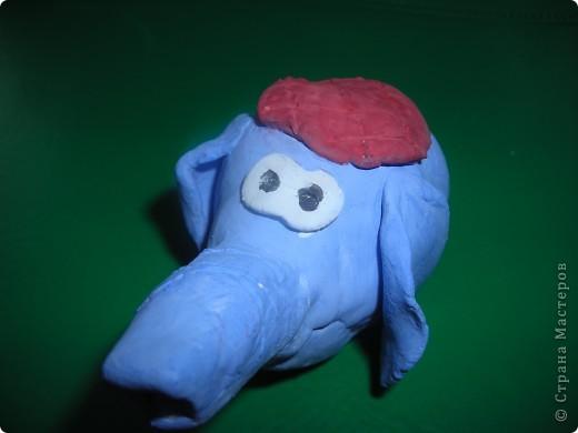 Мой милый розовый слонёнок. Делала по МК ANAID (кликабельные ссылки вставить не могу, почему-то не загружаются дополнительные функции сообщения) фото 3