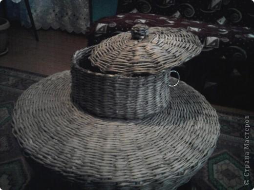Плетение из газет фото 2