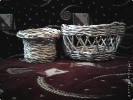 Плетение из газет фото 5