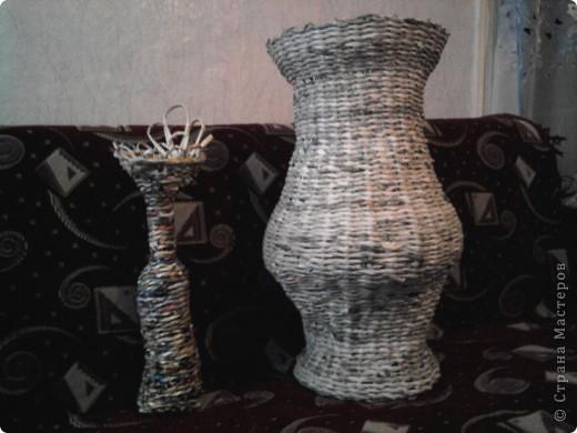 Плетение из газет фото 3