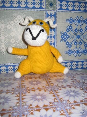 Вот такую скорпионшу связала я не День рождение Лёле своей.Автор игрушки yuliya-kinsfater ,правда оформила чуть по своему.. размер от мордочки до кончика хвоста 27 см. фото 3