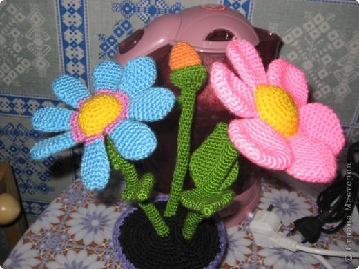 Мамочке в День Рождения получились разноцветные ромашки. Толкование сделала Oxana Devi.Спасибо ей большое!!! фото 2