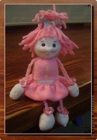 Игрушка Куклы Мастер-класс 8 марта День защиты детей День рождения День семьи Шитьё МК Кукла Матильдочка Бусинки Пряжа Тесьма шнур Ткань фото 1