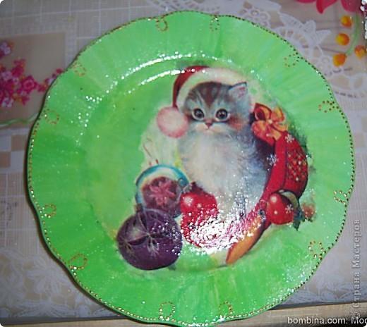 Тарелочка для мамы.(делал крестник-10 лет) фото 3
