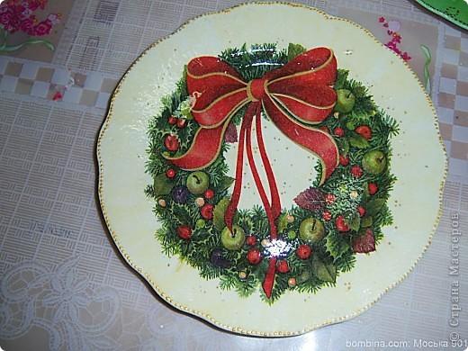 Тарелочка для мамы.(делал крестник-10 лет) фото 1