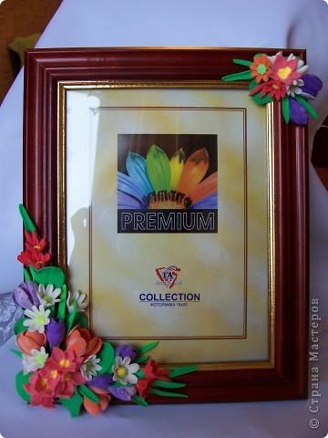 Вот такая рамочка весенняя вышла,здесь крокусы,примулы,и маленькие ромашечки разного рода))) Как вам,девочки эти цветики? фото 7