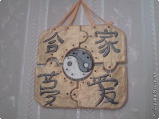 Панно сделанное в Китайском стиле