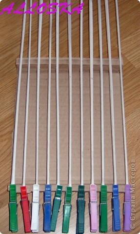 Картина панно рисунок Мастер-класс 8 марта Декупаж Плетение Панно небольшой мастер-класс Бумага газетная Краска Салфетки фото 2