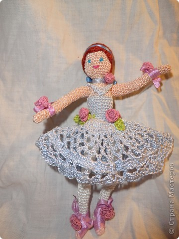 куколка - балерина 16см. фото 2