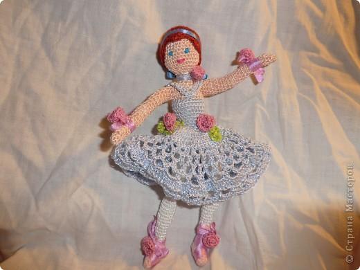 куколка - балерина 16см. фото 3