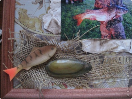 Подарок  для рыбака))) ко дню Святого Валентина, можно сделать и к 23 февраля!!! фото 5
