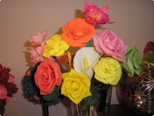 Первые цветики, но недоделанные....