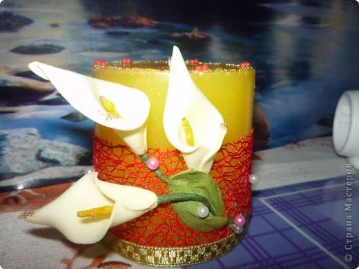 первая свадебная свеча фото 1