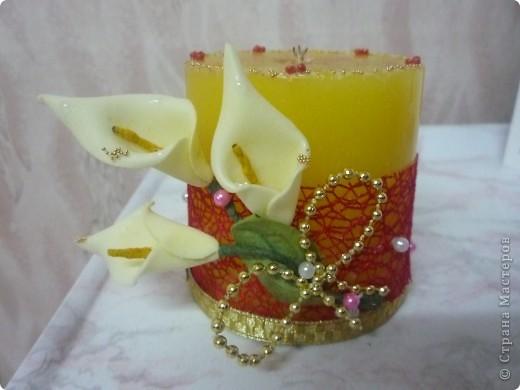 первая свадебная свеча фото 2