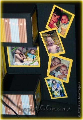 Ну вот,наконец-то у нас родилась внучатая племянница!!!В этот же день (вернее ночь) я сотворила открытку. фото 13
