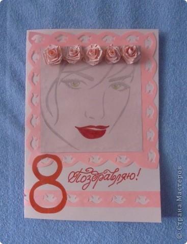 Очень понравились девушки Mifinna, тут же захотелось сделать открыточку