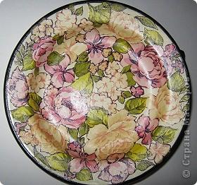 Декоративная тарелка фото 1