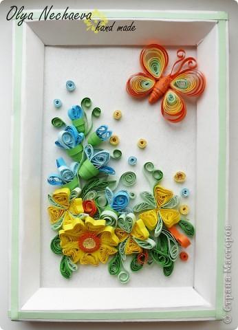 Цветы. Квиллинг фото 1
