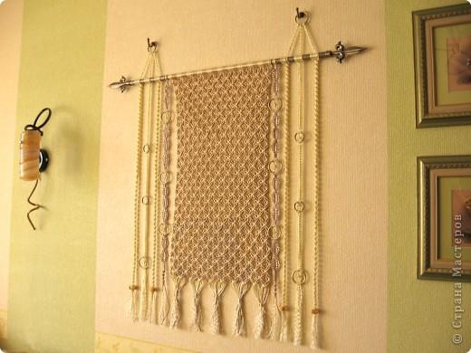 Плетение на стенах