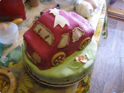Тортик на ДР. 2 годика фото 1