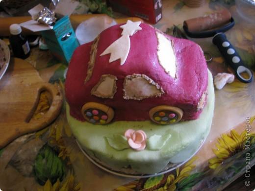 Тортик на ДР. 2 годика фото 2