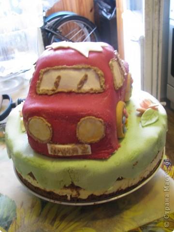 Тортик на ДР. 2 годика фото 3