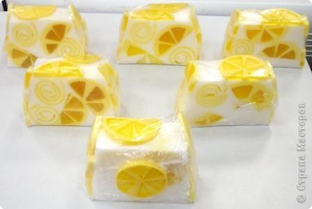 Лимонный брусочек на 1350граммов! фото 2
