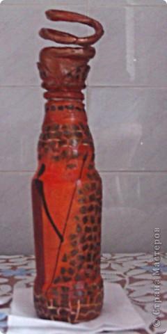 Декупаж в сочетании с лепкой и мозаикой из яичной скорлупы  фото 7