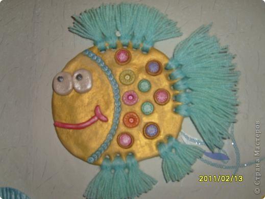 Наконец-то и ко мне приплыли рыбки. Это фото  в интерьере. фото 2