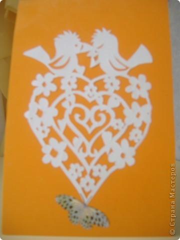 Эту открытку я подарила маме на день рождения. фото 7