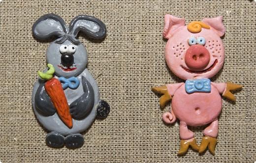 Кaк лепить свинью из соленого тестa : Бесплатная база фото