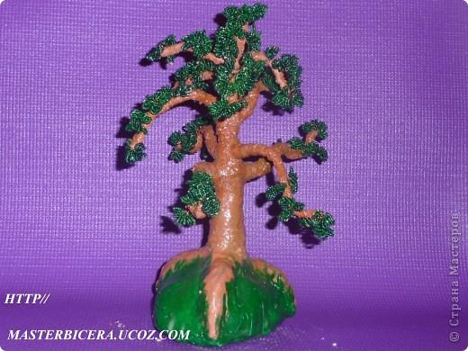 Дерево любви.Деревья из бисера.Мои работы фото 19