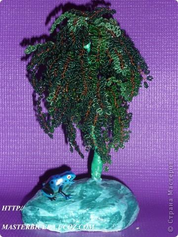 Дерево любви.Деревья из бисера.Мои работы фото 22