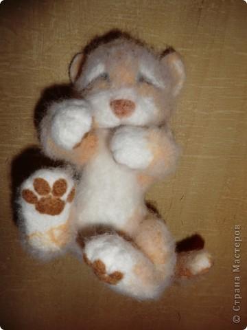"""Такая мишка Мишель получилась уже дома после """"шлифования"""" и дарения ей цветочков и ягодок фото 16"""