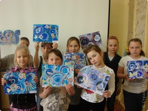 И живопись рисуем подводный мир гуашь
